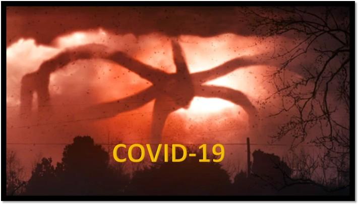 covid-monster
